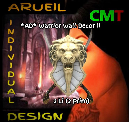 AD Warrior Wall Decor II