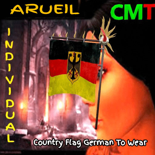 Country Flag German To Wear