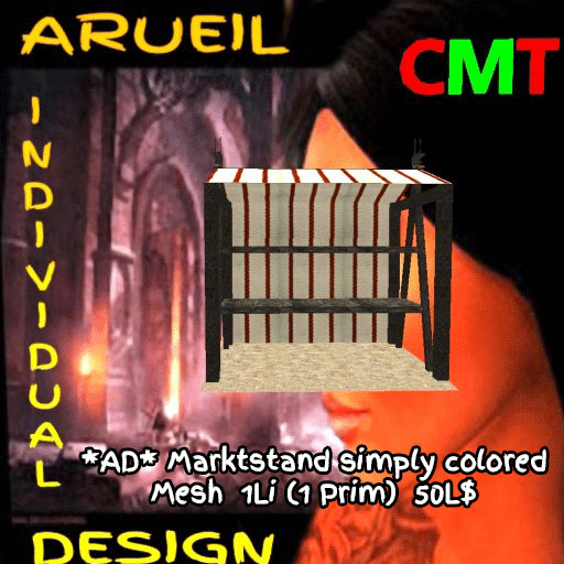 AD-Marktstand simply colored Mesh