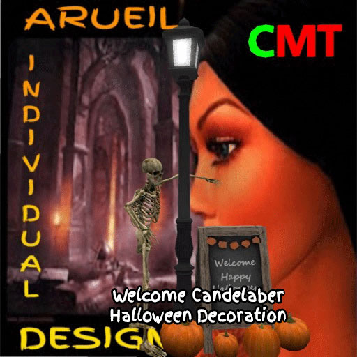 Welcome Candelaber