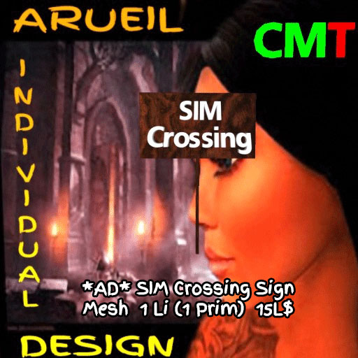 AD-SIM-Crossing Sign Mesh